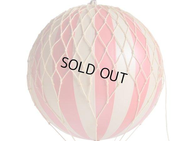 画像2: 【再入荷】バルーン(熱気球)オブジェ M/レッド
