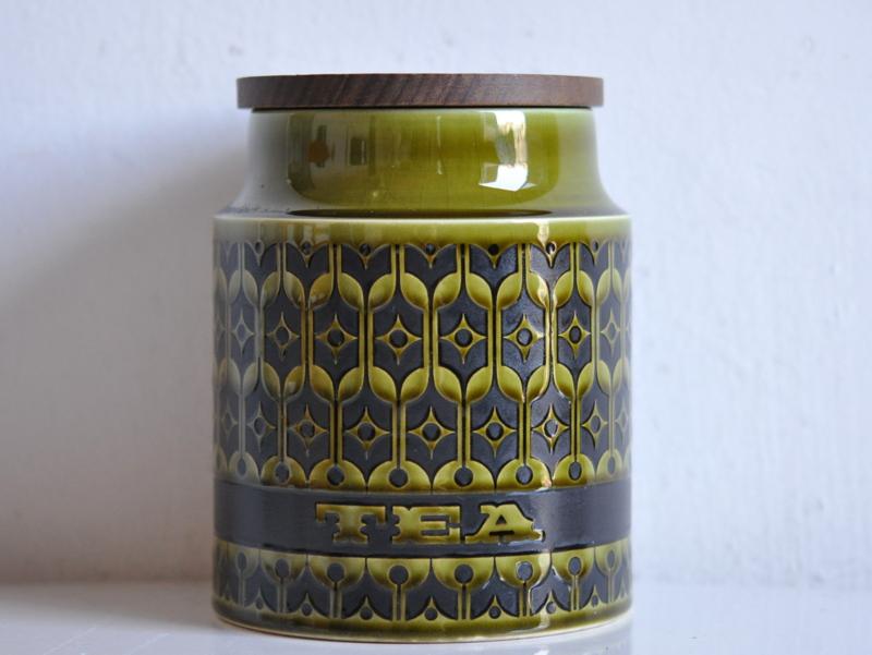 画像1: イギリス ホーンジー HORNSEA社キャニスター(紅茶)