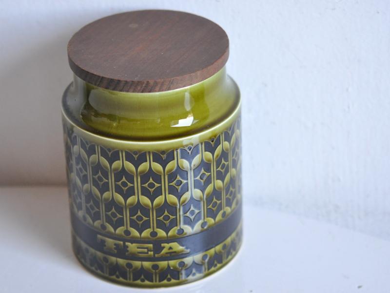 画像2: イギリス ホーンジー HORNSEA社キャニスター(紅茶)