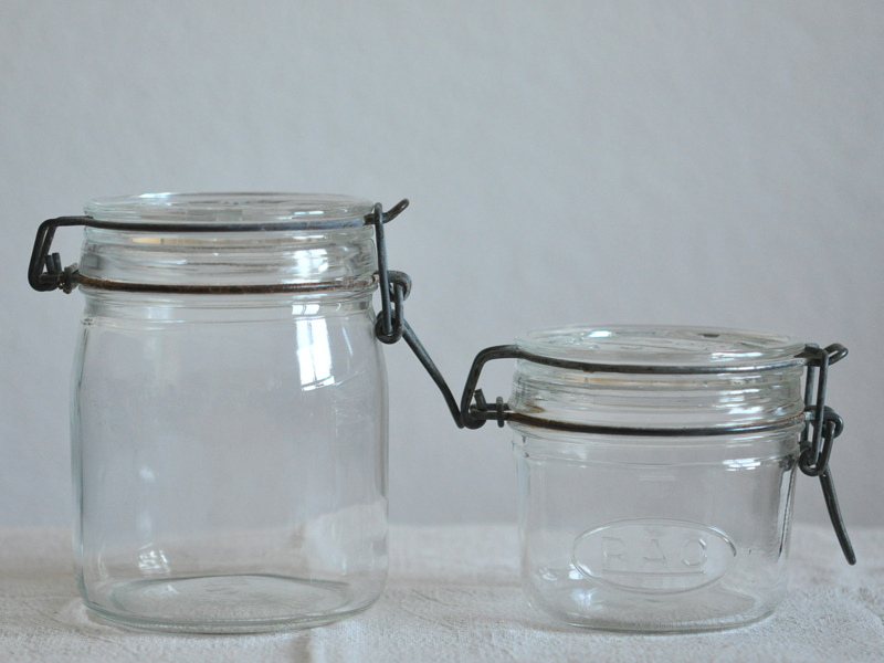 画像1: アンティークガラス瓶