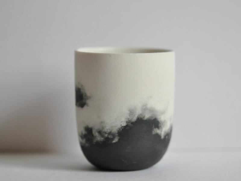 画像1: 雲モチーフゴブレ(S)