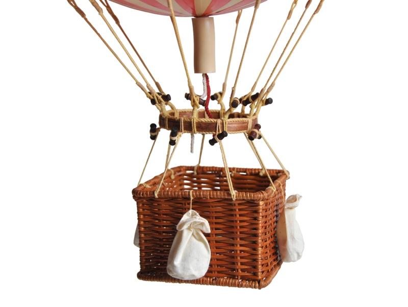 画像2: 【再入荷】バルーン(熱気球)オブジェ L/ブルー