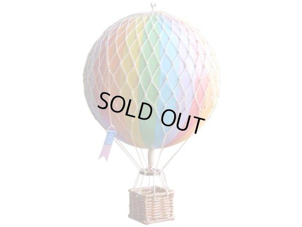 画像1: バルーン(熱気球)オブジェ M/レインボー