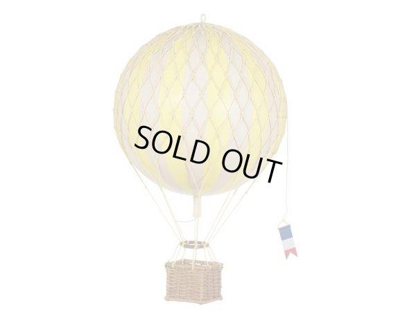 画像1: バルーン(熱気球)オブジェ M/イエロー