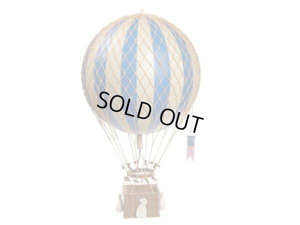 画像1: バルーン(熱気球)オブジェ L/ブルー