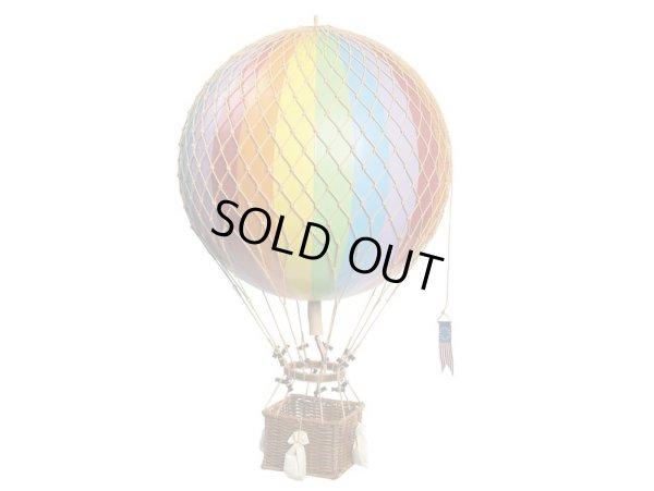 画像1: バルーン(熱気球)オブジェ LL/レインボー