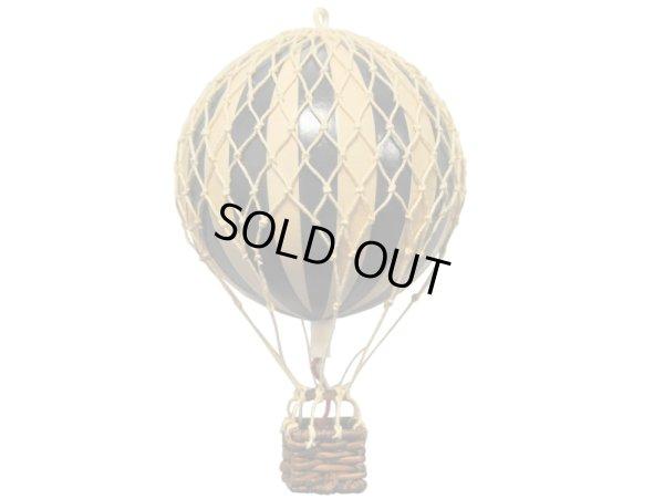 画像1: バルーン(熱気球)オブジェ S / ブラック