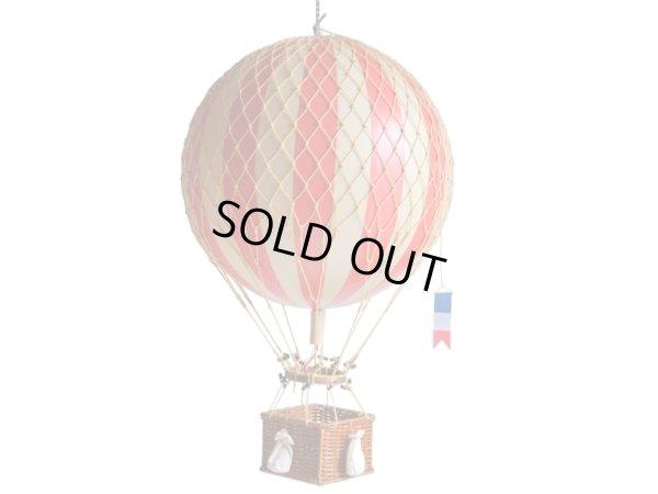 画像1: 【再入荷】バルーン(熱気球)オブジェ L/レッド