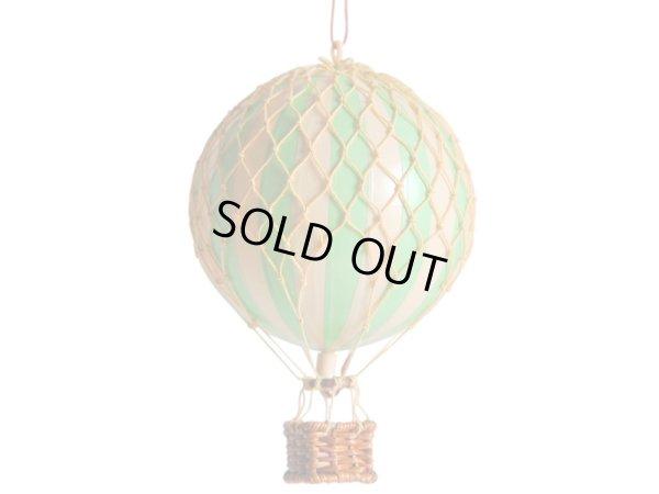 画像1: バルーン(熱気球)オブジェ S/グリーン