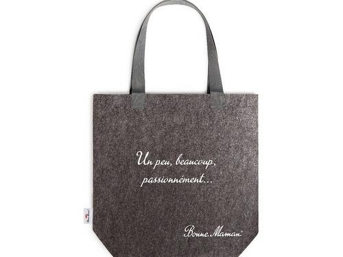 画像1: Bonne Maman ボンヌママン フェルト製バッグ