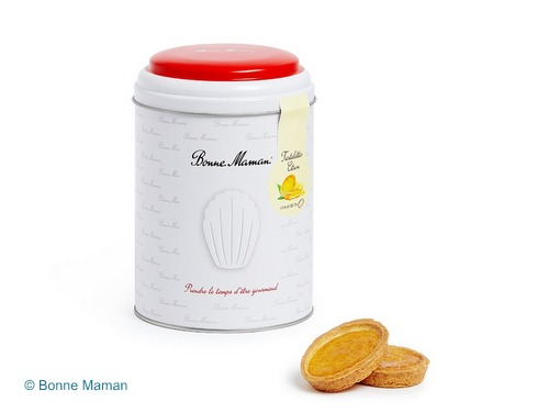 画像1: 【限定品】Bonne Maman ボンヌママン缶入りタルト(シトロン)