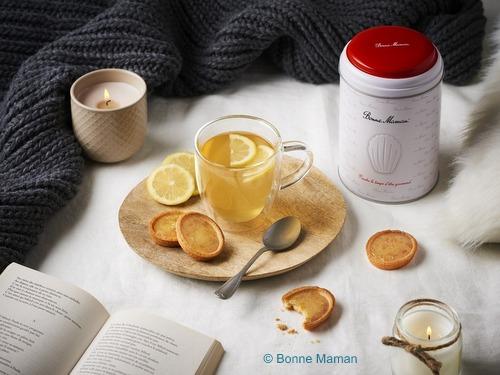画像2: 【限定品】Bonne Maman ボンヌママン缶入りタルト(シトロン)