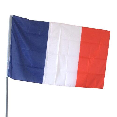 画像1: フランス国旗 トリコロール フラッグ 特大サイズ 89cmx150cm