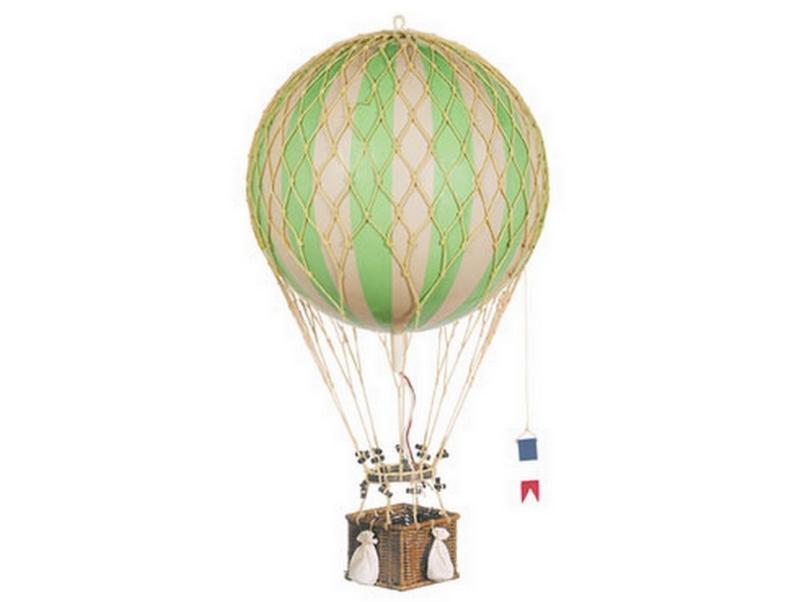 画像1: 【再入荷】バルーン(熱気球)オブジェ L/グリーン