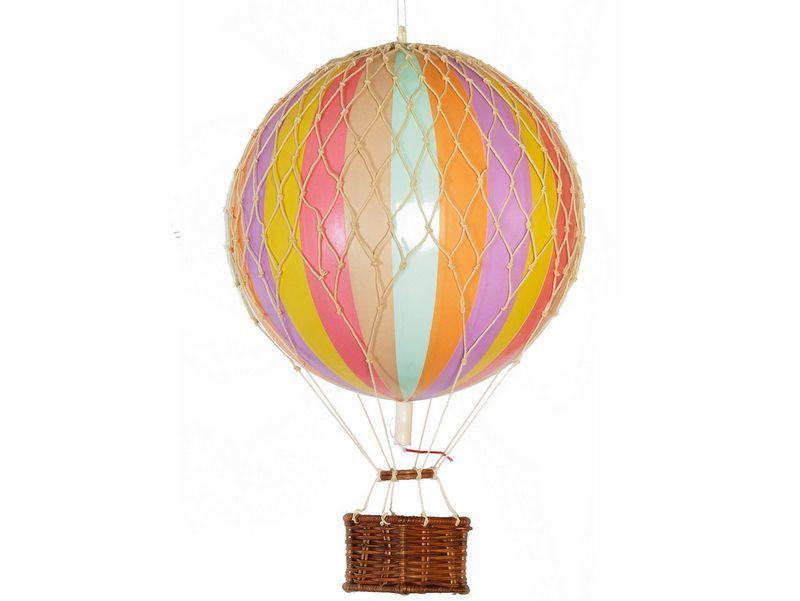 画像1: 【再入荷】バルーン(熱気球)オブジェ M / パステル