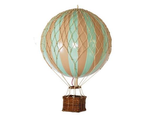 画像1: バルーン(熱気球)オブジェ M / ミント