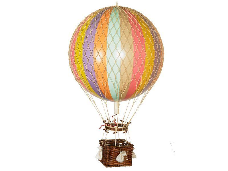 画像1: バルーン(熱気球)オブジェ L / パステル
