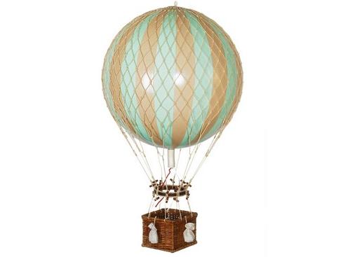 画像1: バルーン(熱気球)オブジェ L / ミント
