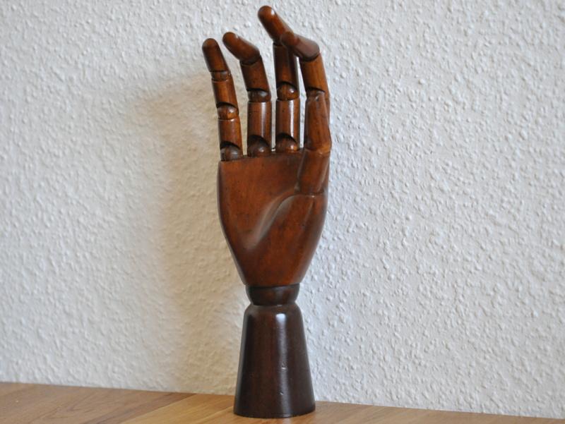 画像2: 【再入荷】木製の手のモデル