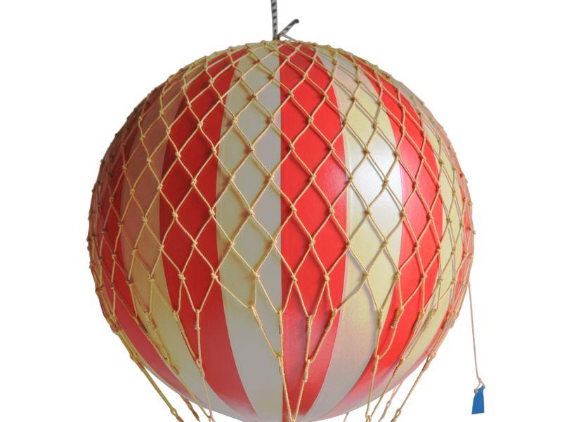 画像2: 【再入荷】バルーン(熱気球)オブジェ L/レッド