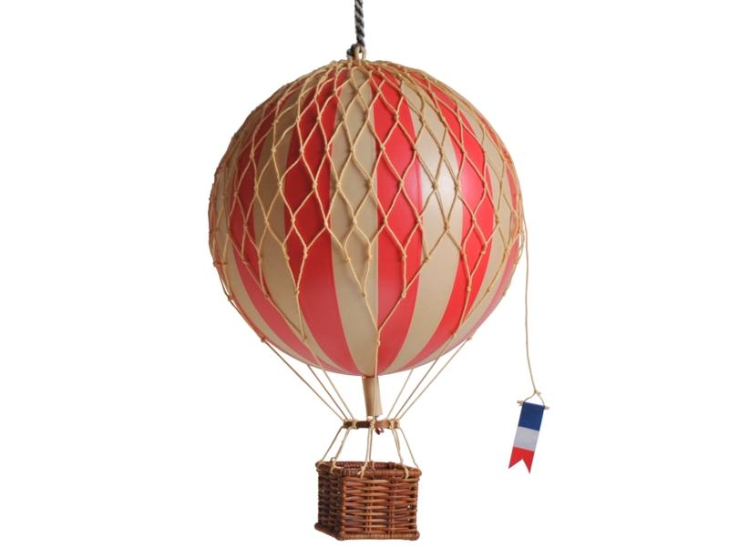 画像1: バルーン(熱気球)オブジェ M/レッド