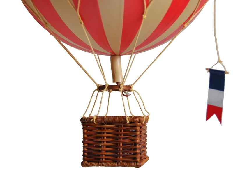 画像3: バルーン(熱気球)オブジェ M/レッド