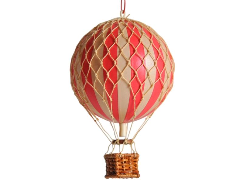 画像1: 【再入荷】バルーン(熱気球)オブジェ S/レッド