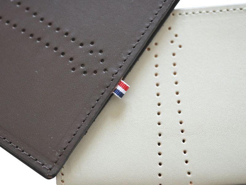 画像2: Manufacture des rigoles 本革カード入れ / エッフェル塔