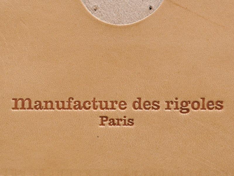 画像3: Manufacture des rigoles 本革カード入れ / エッフェル塔