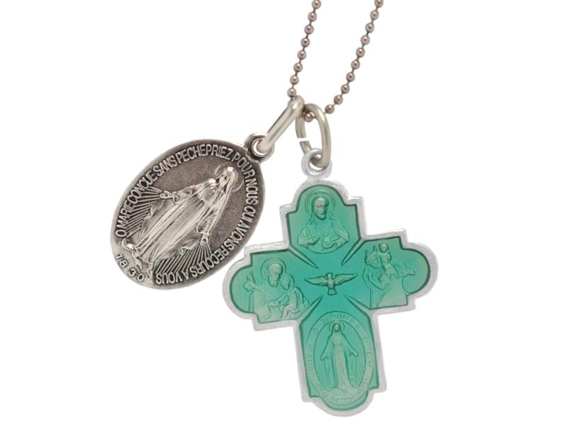 画像3: croix des 4 chemins グリーンクロスチャーム