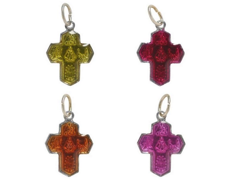 画像2: croix des 4 chemins カラープチクロスチャーム