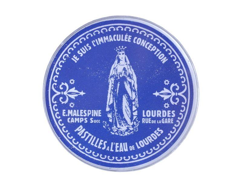 画像1: ルルドの聖水入りパスティーユ/ルルドの泉キャンディー40g