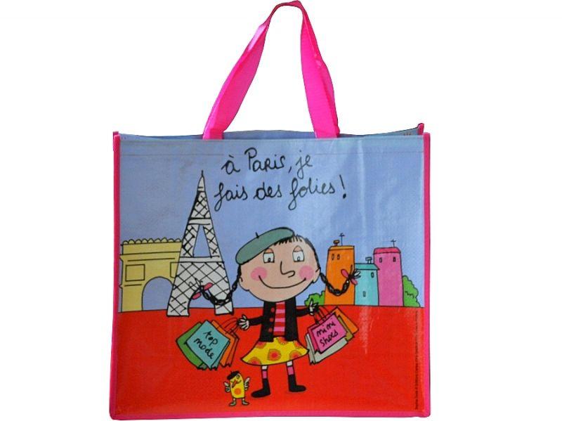画像1: PARIS パリショッピングバッグ / a Paris, je fais des folies!
