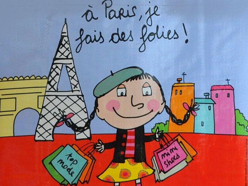 画像2: PARIS パリショッピングバッグ / a Paris, je fais des folies!