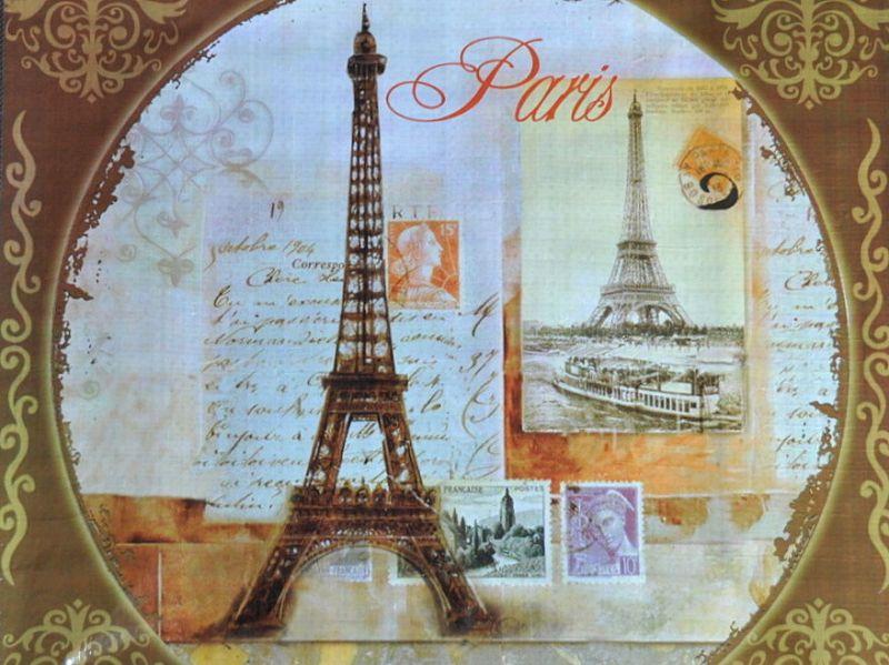 画像2: PARIS パリショッピングバッグ / ヴィンテージ