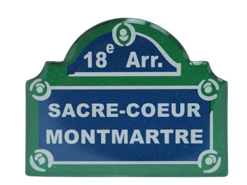 画像1: パリ看板マグネット/モンマルトル