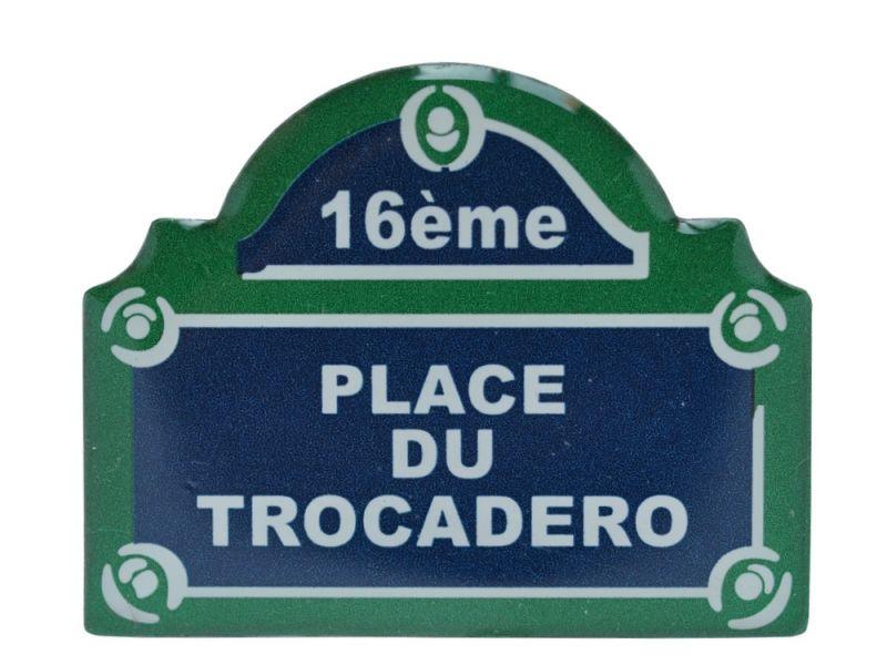 画像1: パリ看板マグネット/トロカデロ広場